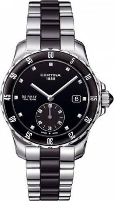 Certina C014.235.11.051.01 DS First Lady Ceramic - 3 hands