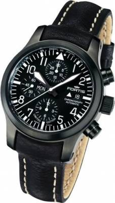 Fortis 656-18-81-L B-42 Flieger Black Limited Edition