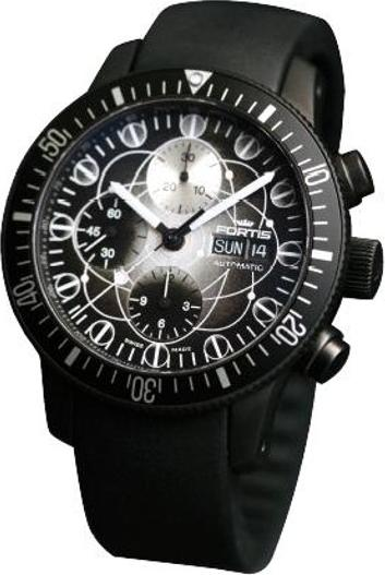 Fortis 638-28-17-K B-42 Official Cosmonauts Winner Black Limited Edition