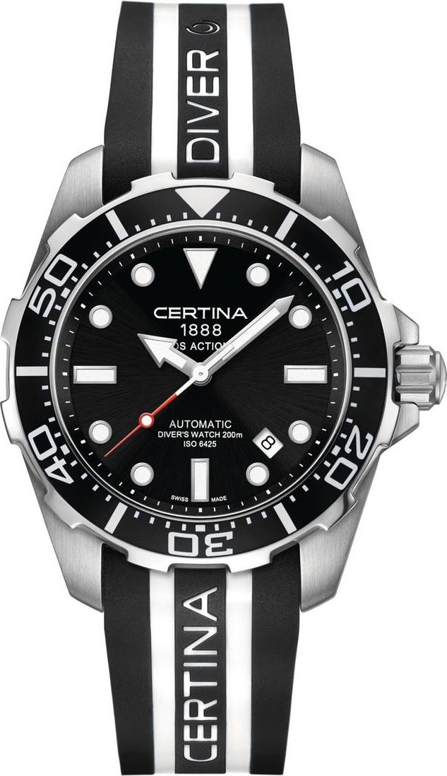 Certina C013.407.17.051.01 DS Action Diver - 3 hands