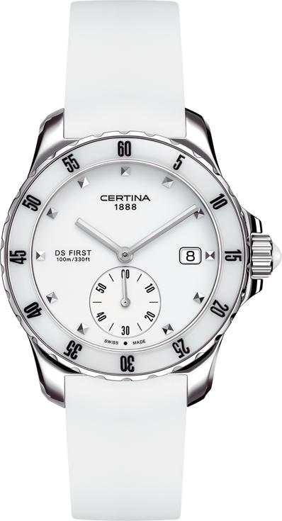 Certina C014.235.17.011.00 DS First Lady Ceramic - 3 hands