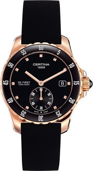 Certina C014.235.37.051.00 DS First Lady Ceramic - 3 hands