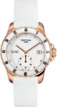 Certina C014.235.37.011.00 DS First Lady Ceramic - 3 hands