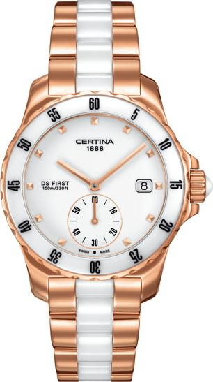 Certina C014.235.33.011.00 DS First Lady Ceramic - 3 hands