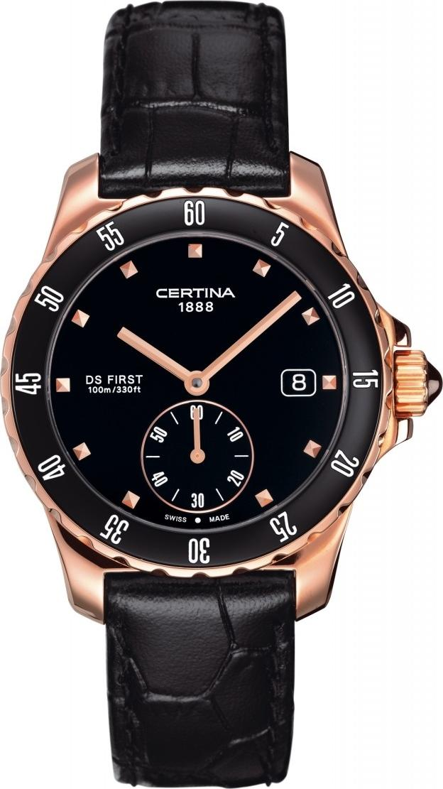Certina C014.235.36.051.00 DS First Lady Ceramic - 3 hands