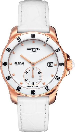 Certina C014.235.36.011.00 DS First Lady Ceramic - 3 hands