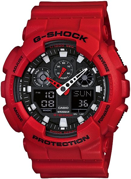 Casio GA 100B-4A G-SHOCK