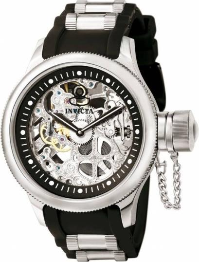 Invicta 1088 Russian Diver Skeleton Mechanical
