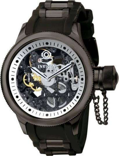 Invicta 1091 Russian Diver Skeleton Mechanical