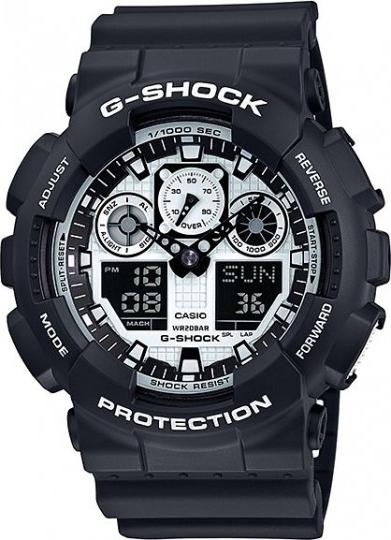 Casio GA 100BW-1A G-SHOCK