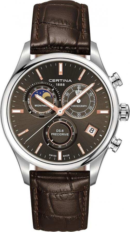 Certina C033.450.16.081.00 DS-8 Chronograph Moon Phase